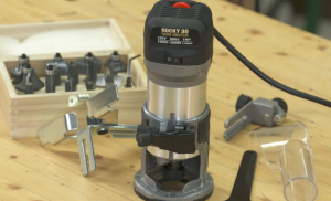 How to use a laminate router bit