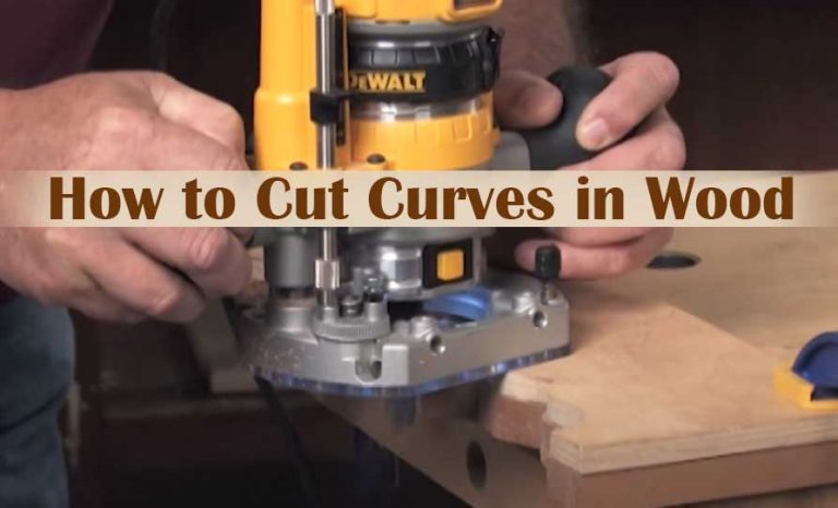 How to Cut Curves in Wood With a Router
